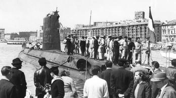 Megtaláltak egy 1968-ban elsüllyedt francia tengeralattjárót