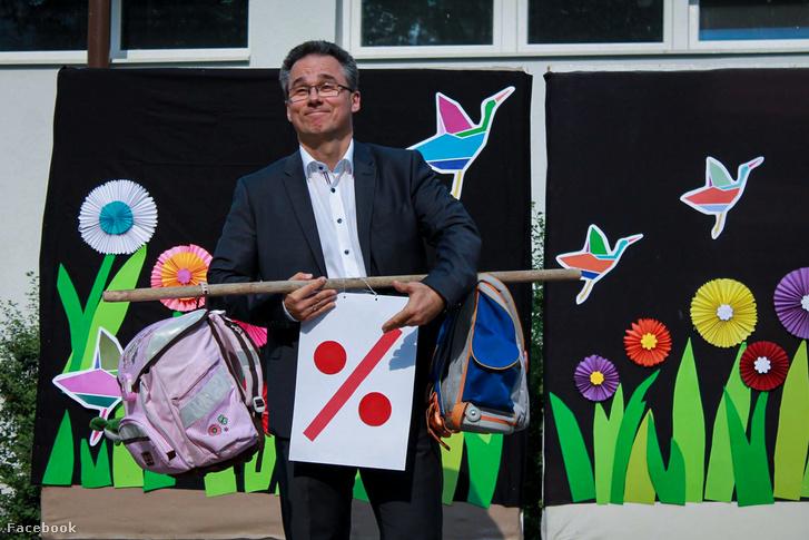 Turcsik Viktor a Budaörsi Herman Ottó Általános Iskola igazgatója