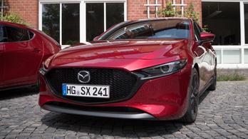 Mazda CX30 és Mazda 3 Skyactive X - 2019.