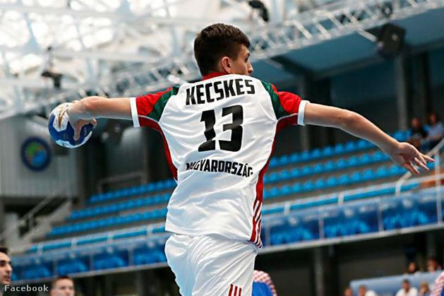 Kecskés Dániel a férfi kézilabda junior válogatott tagja a mostani mérkőzésen nem szerzett gólt