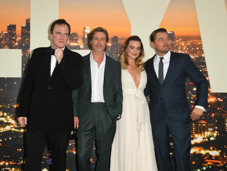 Rengeteg híresség volt kíváncsi Quentin Tarantino új filmjének, a Once Upon a Time in Hollywood (Volt egyszer egy Hollywood) bemutatójára