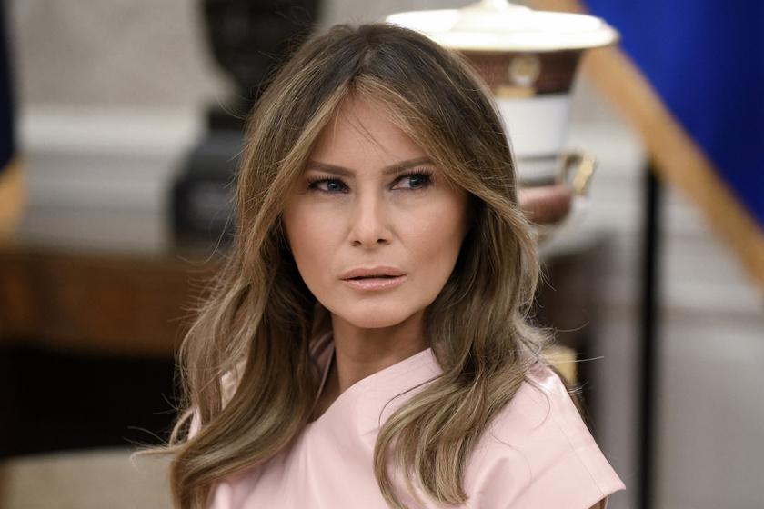 Ez aztán kínos Melania Trumpnak: a divat nagyasszonyának megvolt a véleménye róla