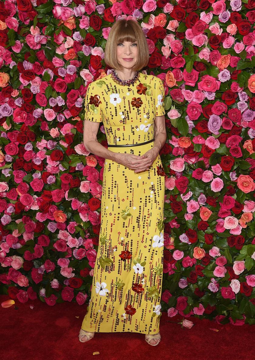 Anna Wintour véleménye határozza meg a divatot.
