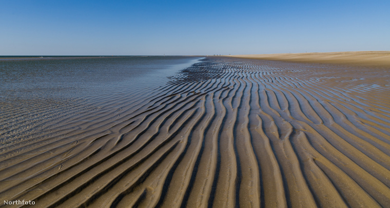 Ezen a képen már láthatja a Watt-tengert is, ami az Északi-tenger melléktengere, és nemcsak Dániával, hanem Hollandiával és Németországgal is határos