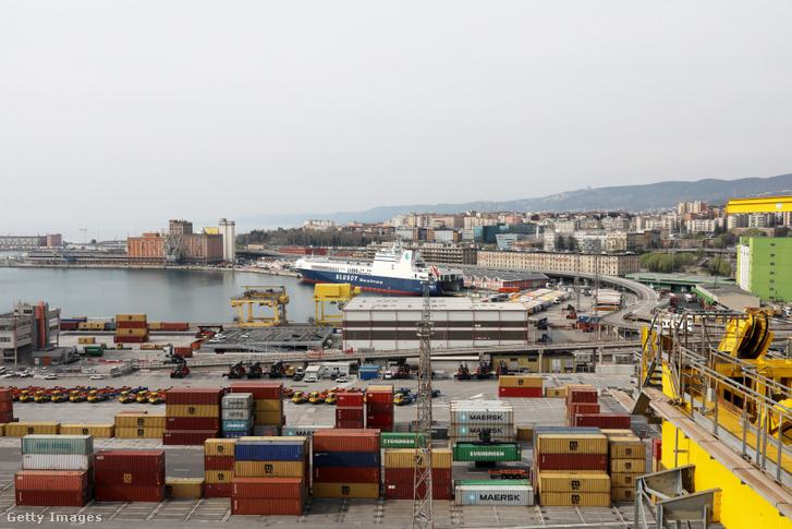 A trieszti konténerforgalom 2005 óta megháromszorozódott