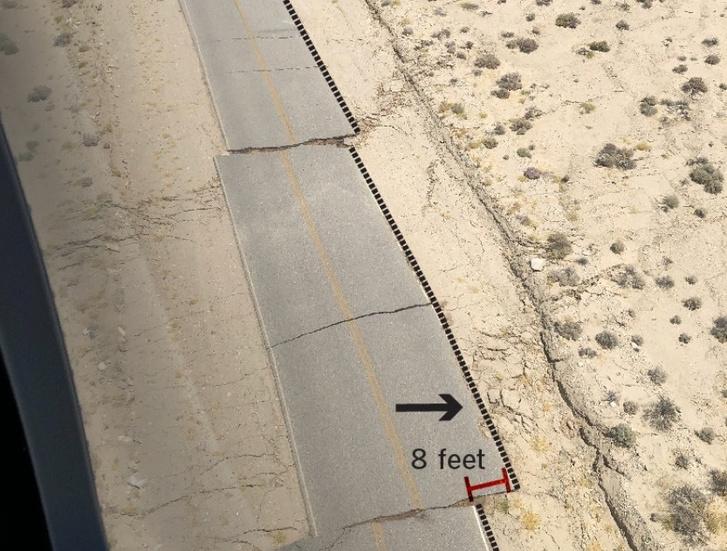 240 centiméterrel elcsúszott út a helyi katonai támaszponton
