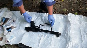 Pisztolyt, gépfegyvert és drogot talált a rendőrség egy Borsod megyei hétvégi házban