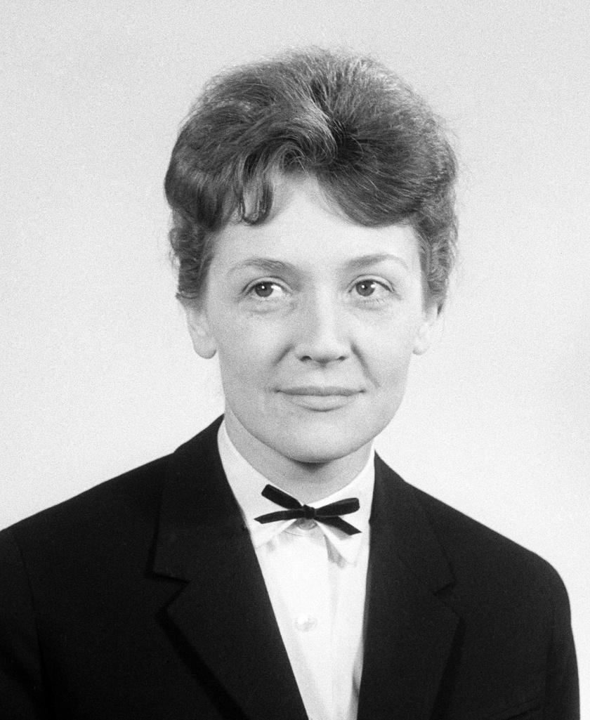 Kassai Ilona 1963. március 14-én, amikor kitüntették a Kossuth-díjjal.