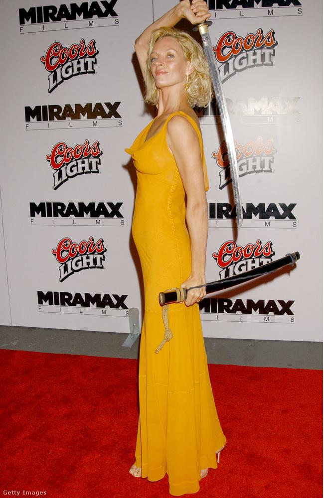 2003, majd 2004-ben is meghódította a mozikat Uma Thurman a Kill Bill című filmekkel, melynek a legújabb pletykák szerint akár még a 3