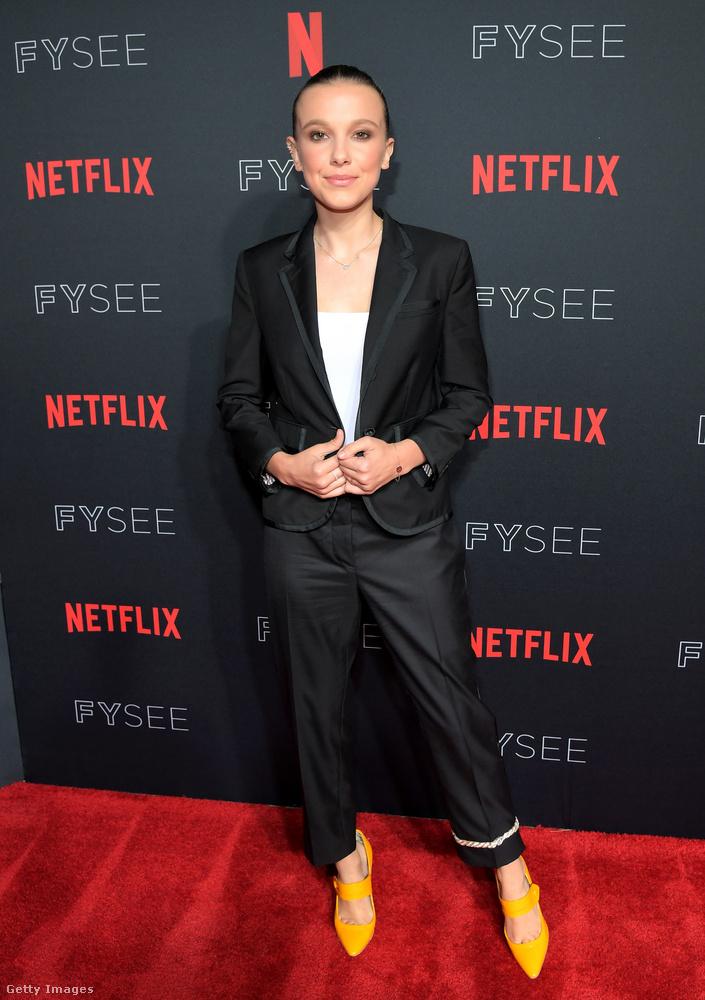 Millie Bobby Brown a Stranger Things című netflixes sorozat egyik legmeghatározóbb szereplője, aki egyben a legnagyobb szuper erővel bír a történetben