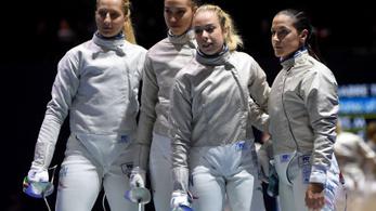 5. lett a vb-n a női kardcsapat, élnek olimpiai reményei