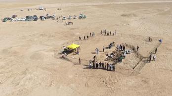 Tömegsírt tártak fel Irak mellett a Szaddám Huszein által elrendelt kurd népirtás áldozataival