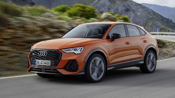 Ez itt a legújabb győri Audi