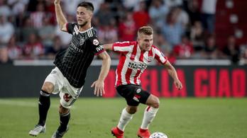 A Dinamo Zagreb közel került a továbbjutáshoz, a PSV négy perc alatt fordította meg a meccset