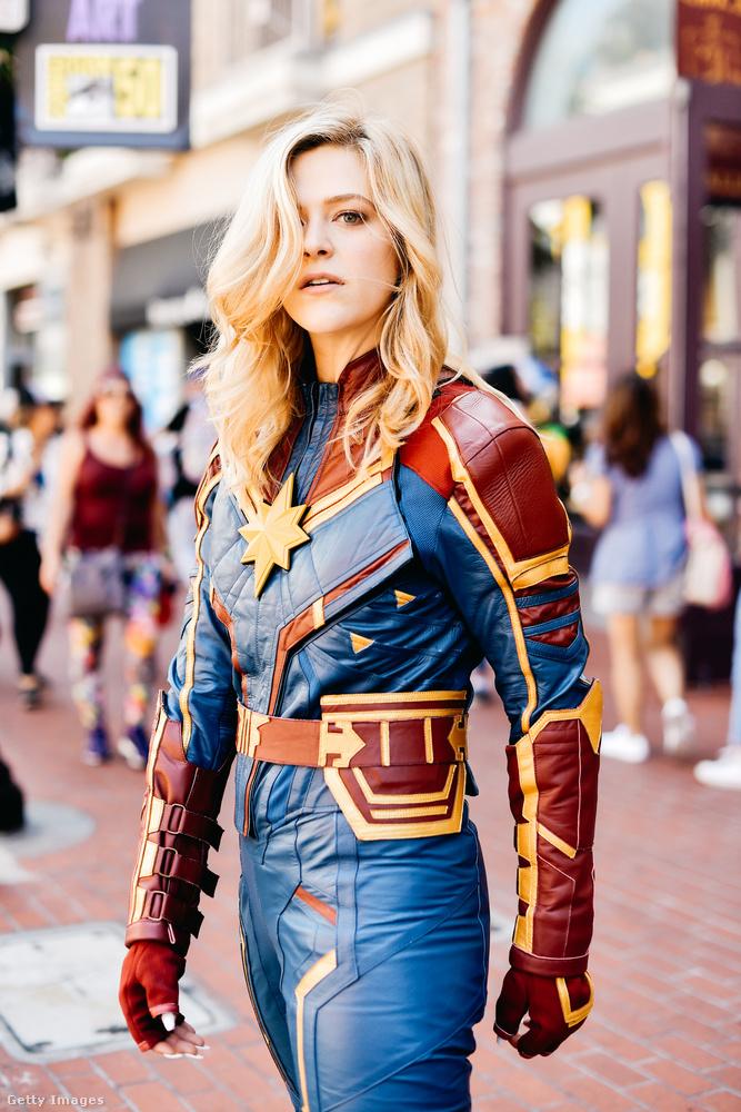 Íme egy meglehetősen mutatós Marvel Kapitány