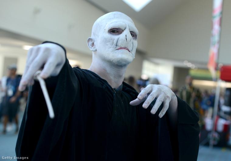 Voldemort nagyúr is megérkezett