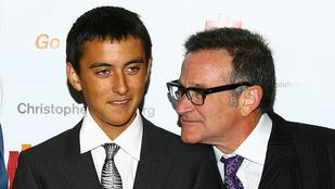 Robin Williams legkisebb fia édesapja születésnapján házasodott meg