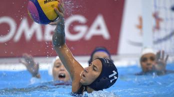 Magyarország-Spanyolország női pólóelődöntő a vb-n