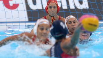 Magyarország-Spanyolország 10-16 a női pólóelődöntőn