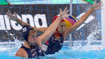 Kiütötték a spanyolok a magyar női pólócsapatot a vb-elődöntőn