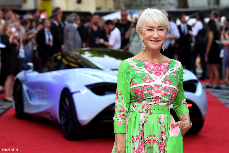Londonban mutatták be elsőként a Halálos iramban megszámlálhatatlanul sokadik részét, amiben Helen Mirren ismét szerepet kapott.