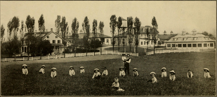 A Hershey Industrial School 1913-ban
