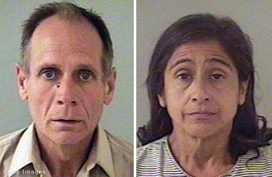 El Dorado megyei seriff hivatal által kiadott kép Phillip Garridóról és feleségéről, Nancyről 2009. augusztus 27-én