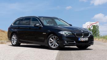 Használtteszt: BMW 520d xDrive Aut. (F11) - 2014.
