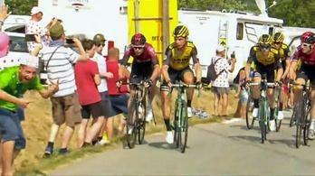 Kizártak két kiszorítósdit játszó bringást a Tour de France-ról