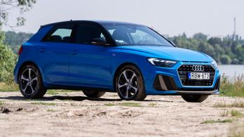 Teszt: Audi A1 30TFSI S tronic