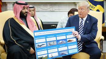Trump megvétózta a fegyvereladást tiltó határozatokat