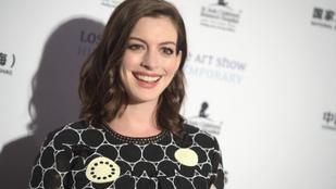 Anna Hathaway hónapokon át titkolta, hogy terhes