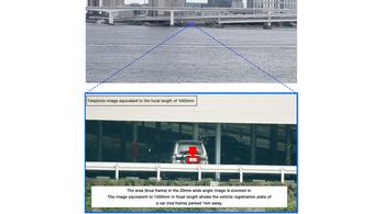 Egy kilométerről leolvas egy rendszámot a Fujifilm kamerája