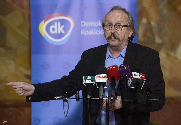 Niedermüller Péter, a Demokratikus Koalíció (DK) alelnöke