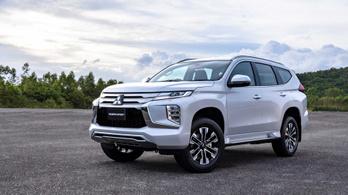 Itt az új Mitsubishi Pajero
