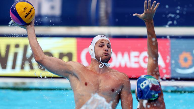 Magyarország-Olaszország férfi pólóelődöntő a vb-n