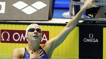 Kapás Boglárka káprázatos úszással aranyérmes