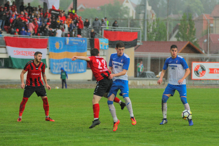 FK Csíkszereda–Dési Unirea FC mérkőzés 2019. május 26-án.