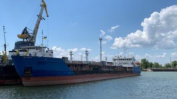 Elengedték az ukránok a feltartóztatott orosz tanker legénységét