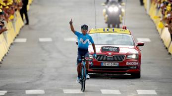 Tour de France: eszelőset ment a kolumbiai Quintana az Alpokban