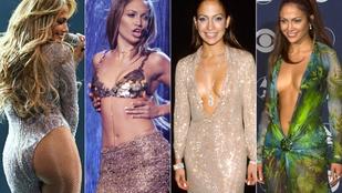 Íme az 50 éves Jennifer Lopez majdnem 30 éves karrierjének 6 legjobb korszaka