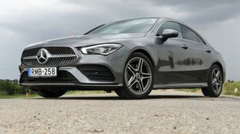 Teszt: Mercedes-Benz CLA 200 Coupé – 2019.