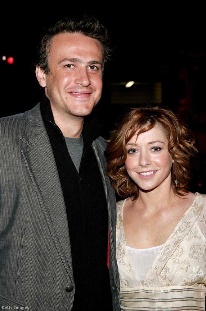 Jason Segel ésAlyson Hannigan(Így jártam anyátokkal)Lily és Marshal között olyan szerelem volt, amilyenre sokan vágyunk