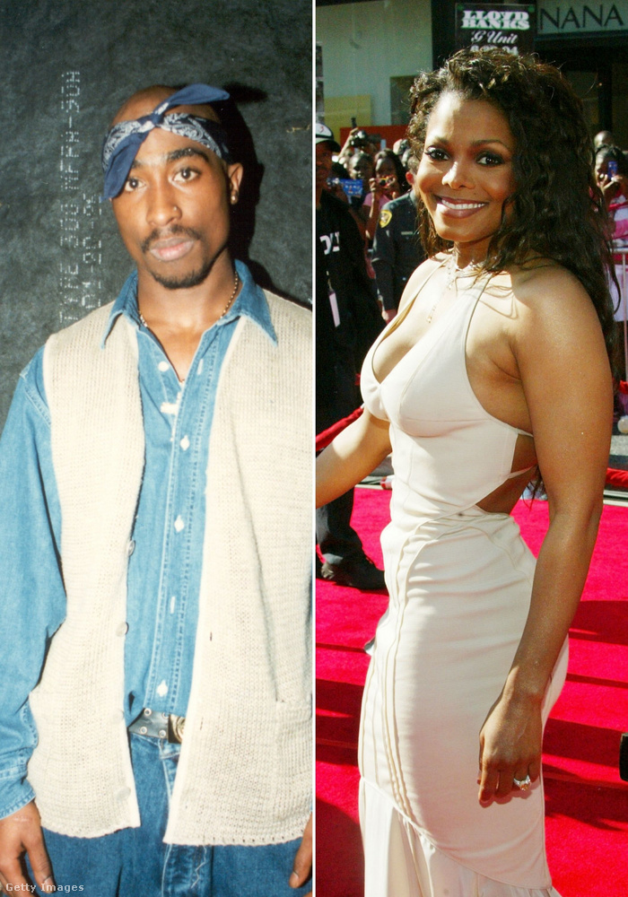 Tupac Shakur és Janet Jackson(Hazug igazság)A pletykák szerint Janet Jackson azt mondta egy forgatás előtt a rappernek, hogy addig nem hajlandó csókolózni vele, amíg nem Tupac nem csinál egy AIDS-tesztet