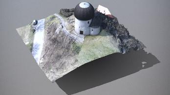 3D-s modellt késíztettek az ösküi templomról