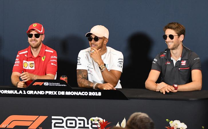 Vettel, Hamilton és Grosjean tárgyal a pilóták részéről