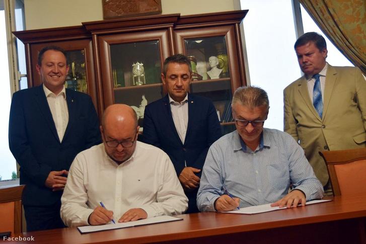 Jozef Bugailo, Brenzovics László, Potápi Árpád János, Zubánics László és Matias Siladi