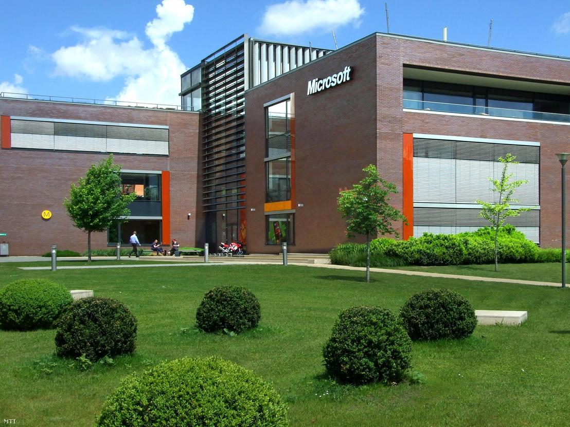 A Microsoft Magyarország Kft. székháza a főváros III. kerületében, a Graphisoft parkban