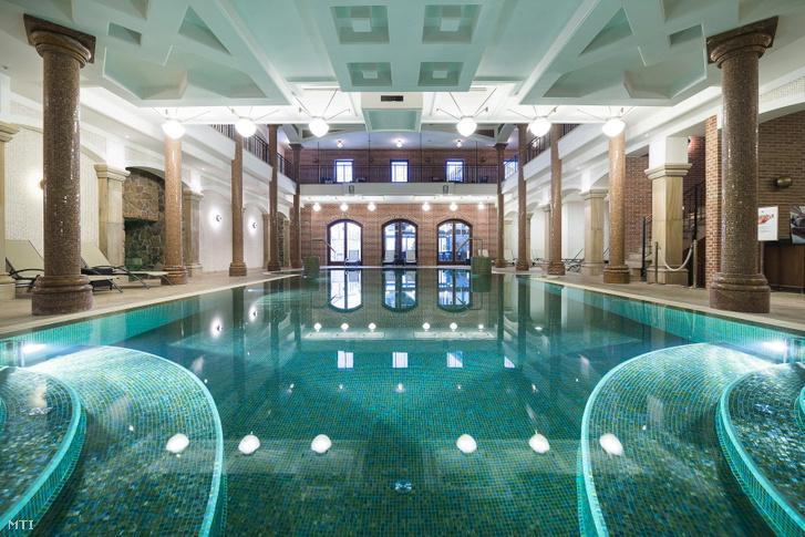 A tarcali Andrássy Rezidencia szálloda wellness részlege