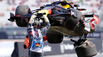 Gasly nagy hibája zárta a Német GP második edzését